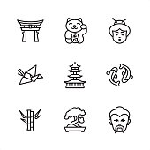 Japan - Pixel Perfect icons