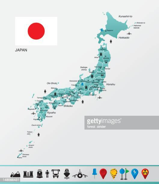 japan - hokkaido stock illustrations, clip art, cartoons, & icons