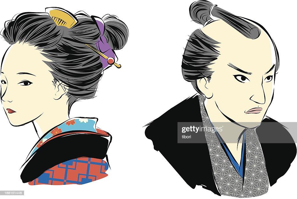 Japanese at Edo period