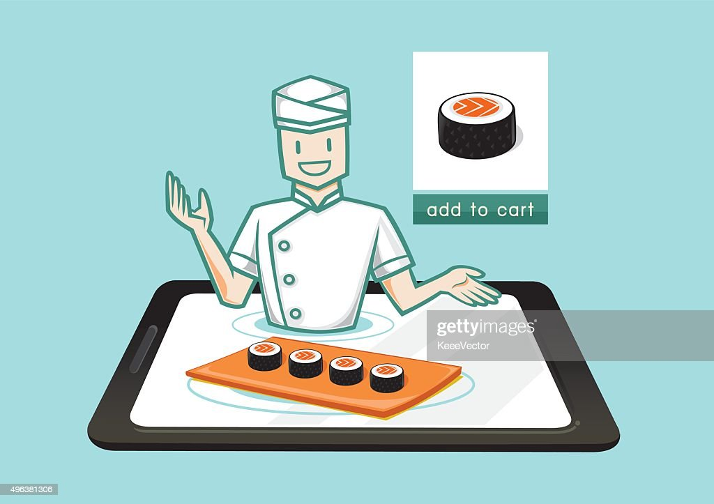 japanese chef sell sushi online