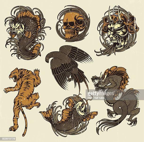 Japanese drawings