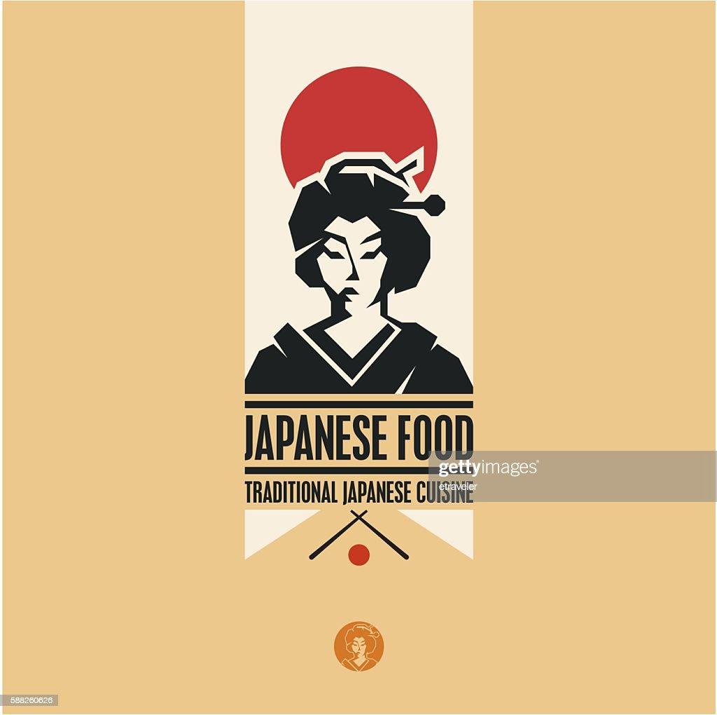 Japanese food, Japanese woman