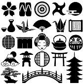 Japanese icons.