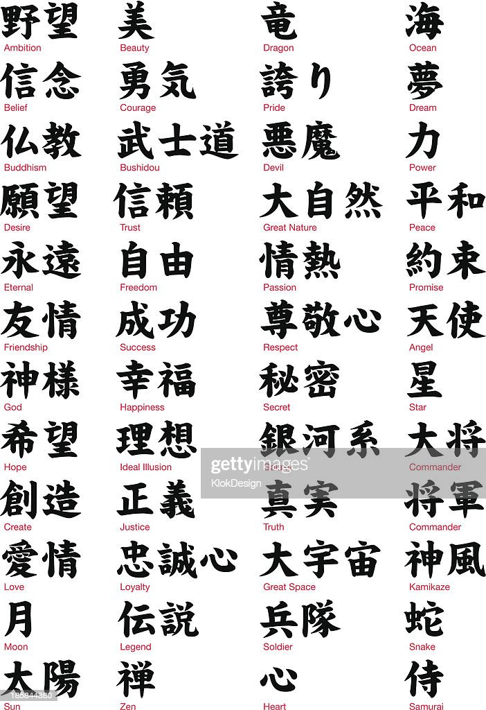 Japanese Kanji vol.1