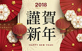 Japanese New Year poster