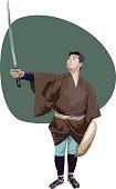 Japanese Old-time Wonderer