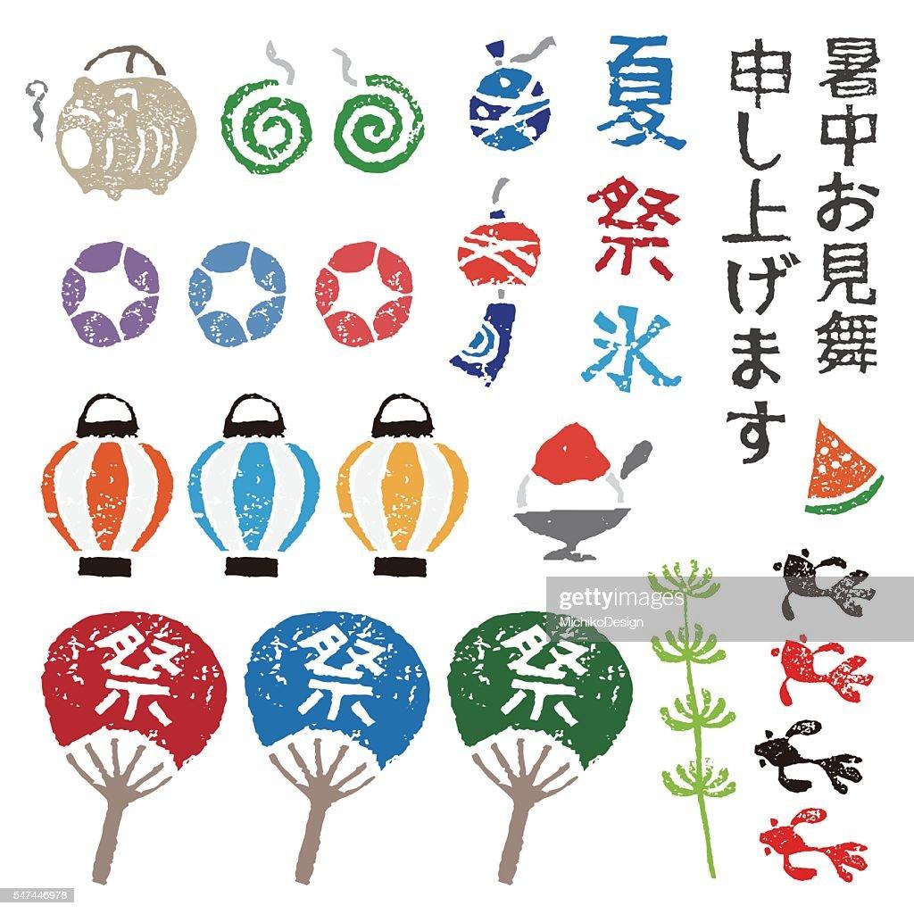 Japanese summer elements