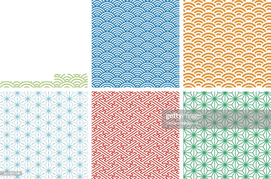 Japanese traditional pattern 01 for Swatch