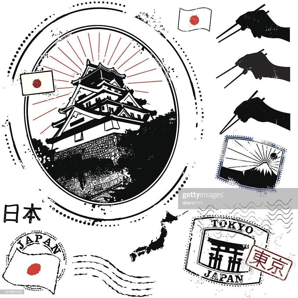 Super san Japão : Ilustração
