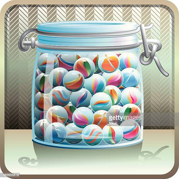 Jar with Marbles
