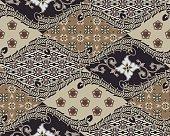 Javanese Batik Seamless Pattern - Set B1