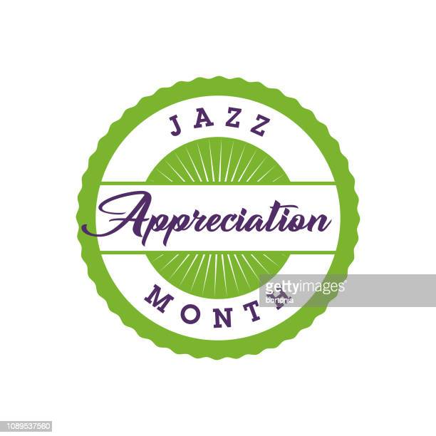 Jazz Appreciation Month Label