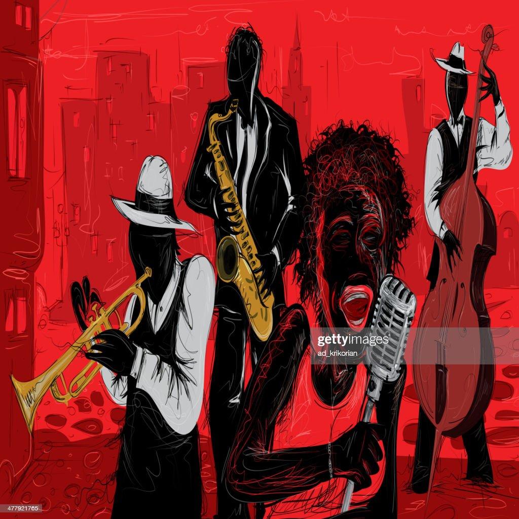 Jazz Art Vector