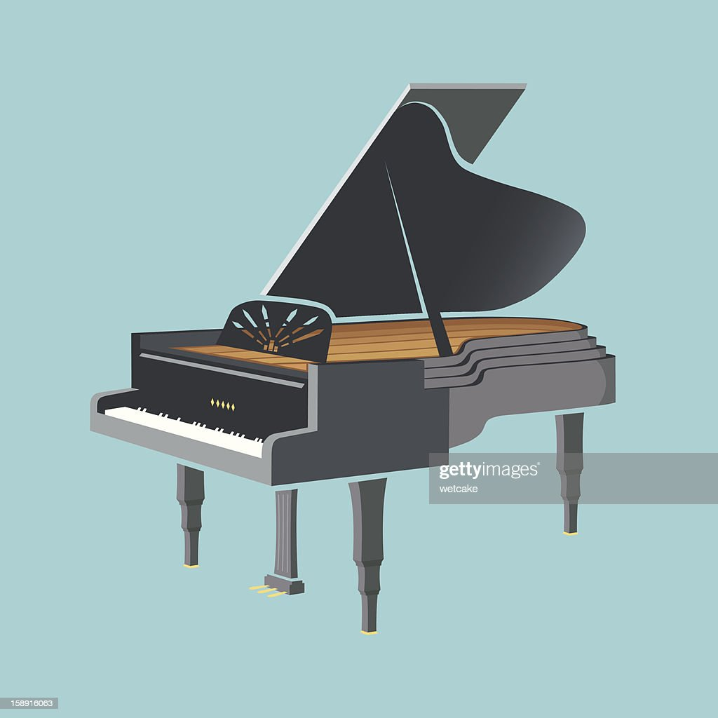 Grand Piano Jazz : Illustration