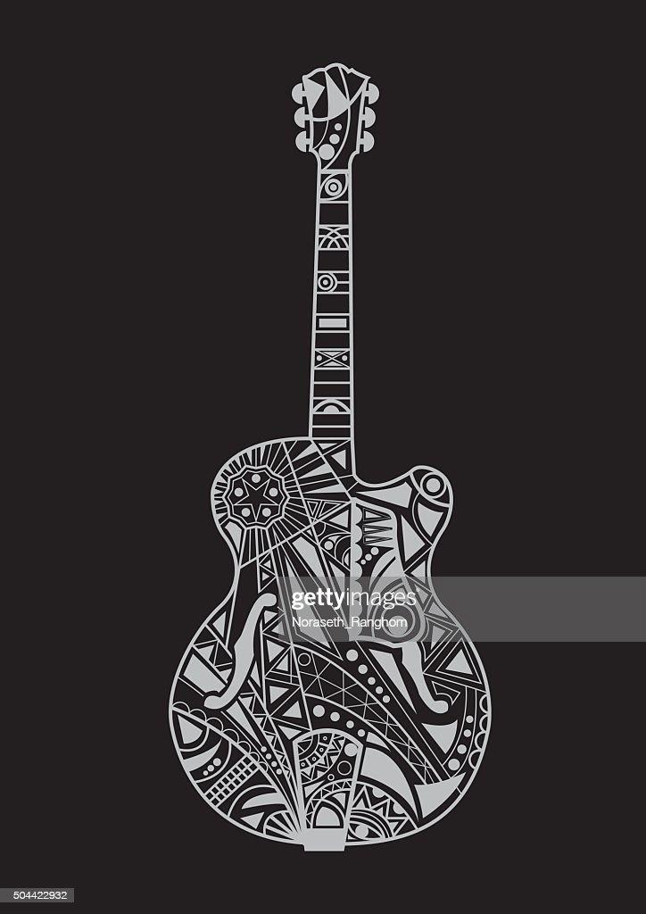 jazz guitar design
