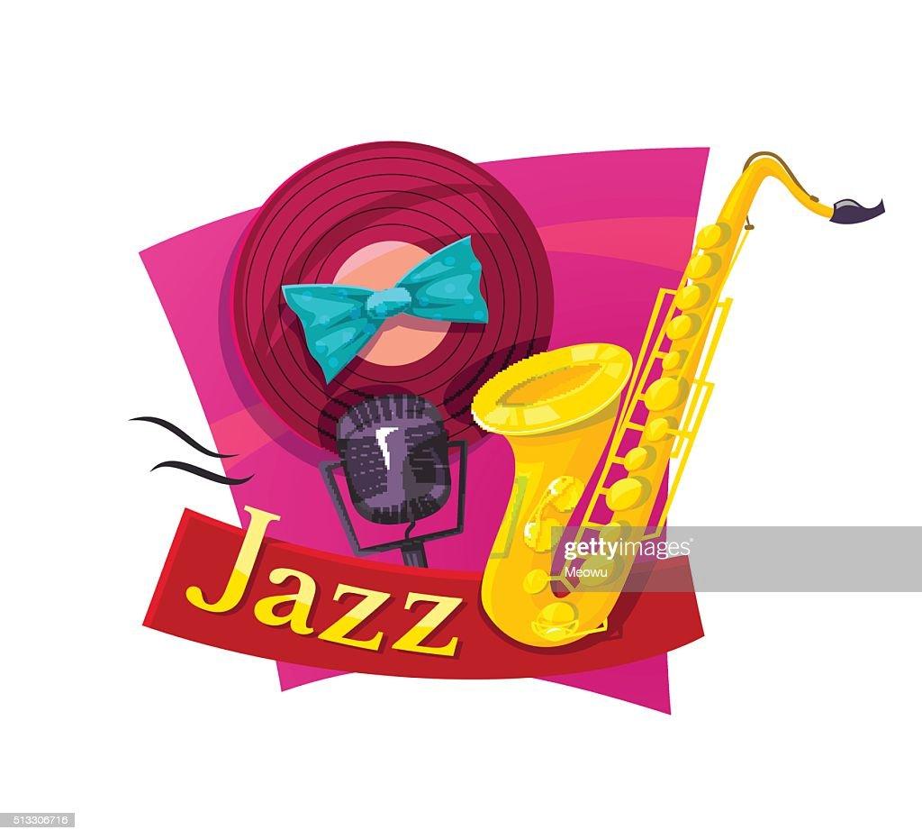 Jazz vector illustration
