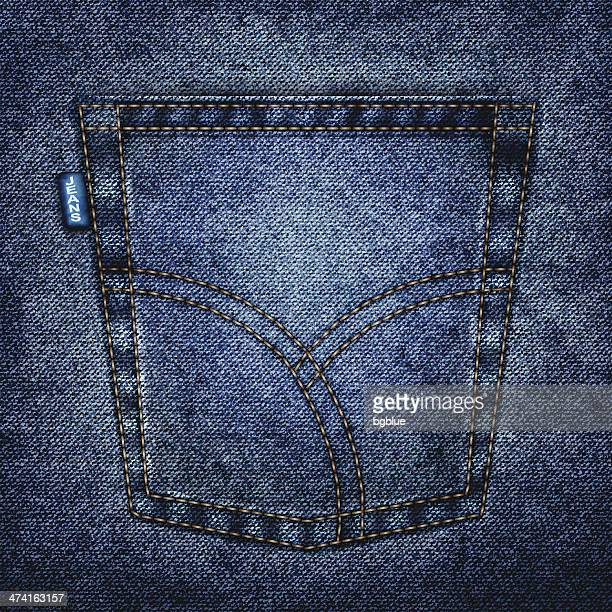 jeans-tasche - jeans stock-grafiken, -clipart, -cartoons und -symbole