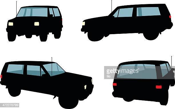 jeeps [vector] - suv stock illustrations, clip art, cartoons, & icons