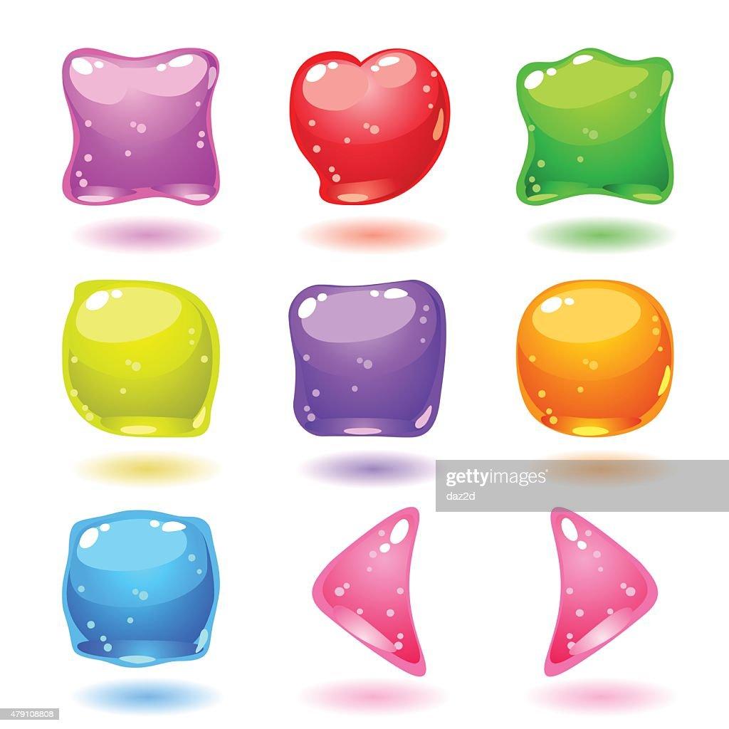 Jellies : stock illustration
