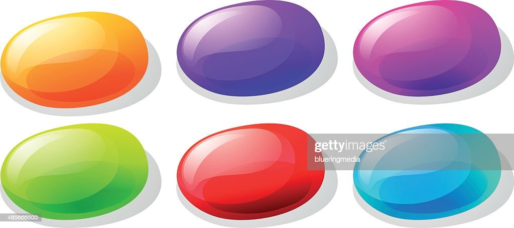 Jelly beans in many colors