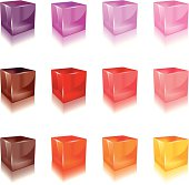 Jelly Cube (warm color)