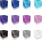 Jelly Cube (cool color)
