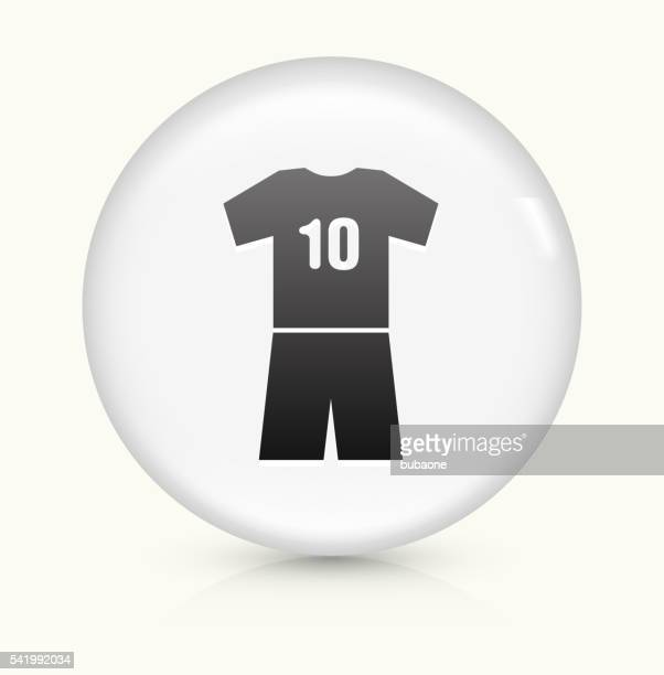 Jersey icon on white round vector button