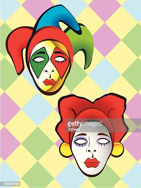World's Best Harlequin Stock Illustrations - Getty Images