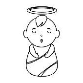 jesus baby avatar character