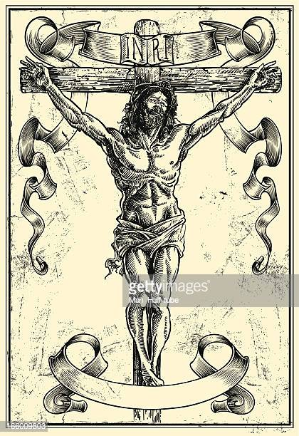 jesus christ - jesus stock illustrations, clip art, cartoons, & icons