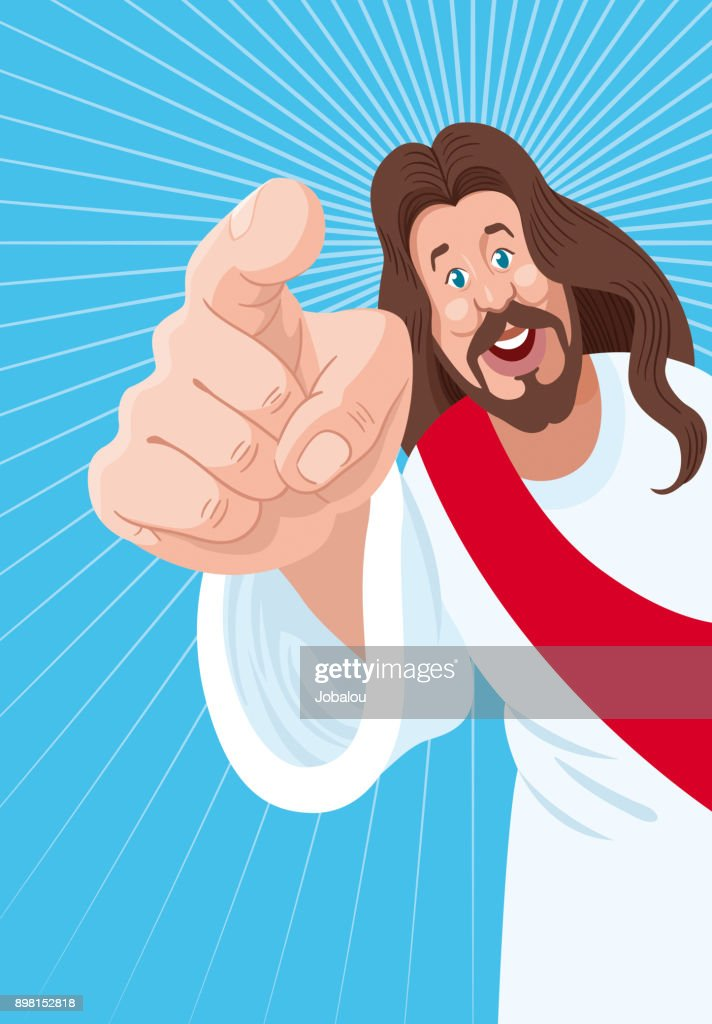 Jesus Is Calling You : stock illustration