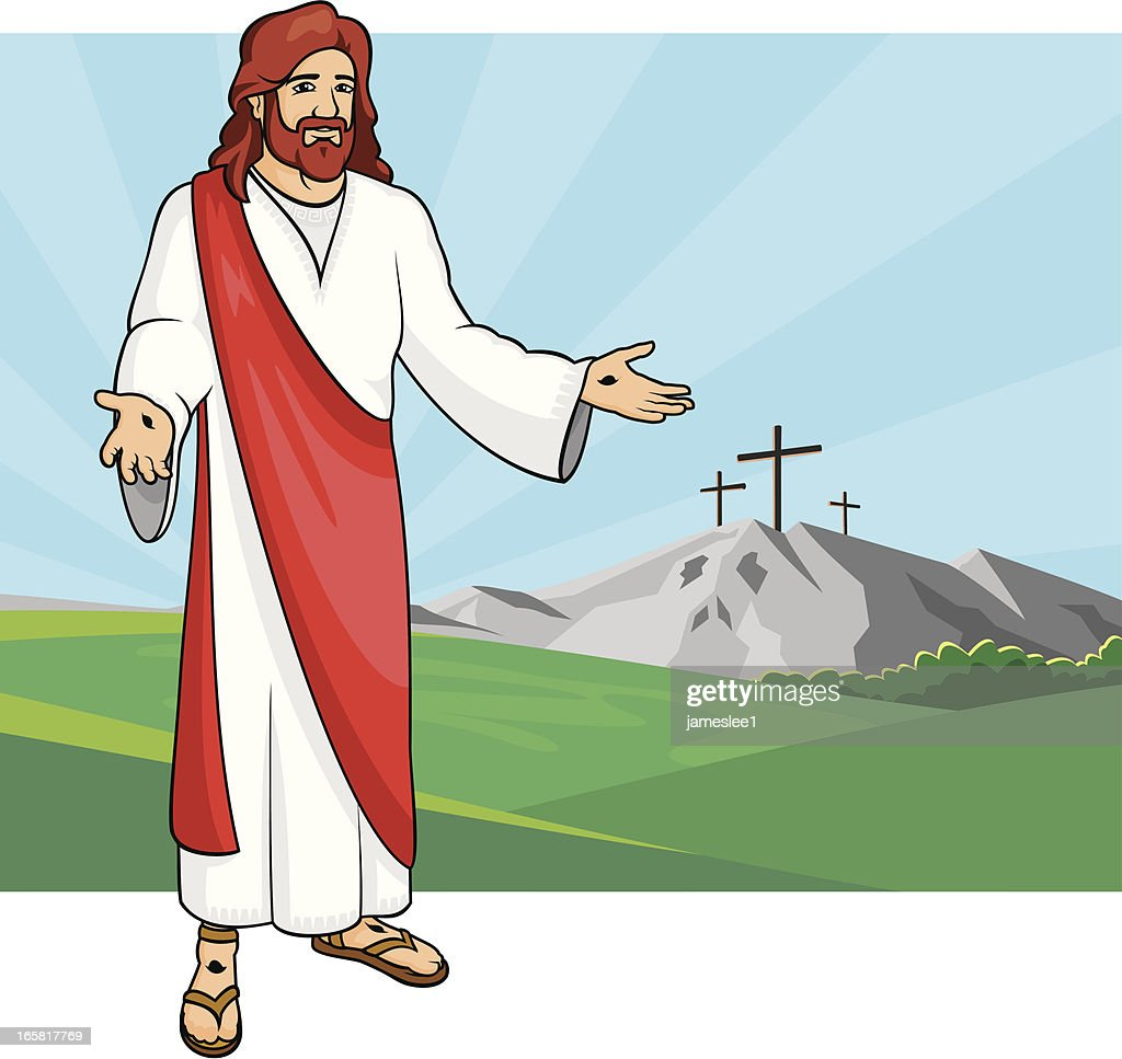 Jesus Resurrected : stock illustration