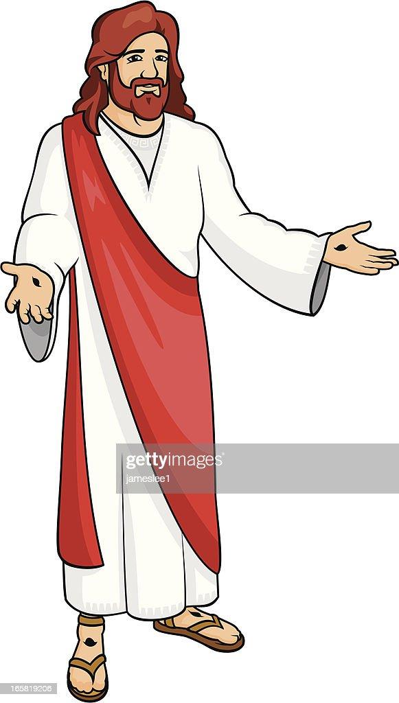 Jesus Resurrected : stock illustration