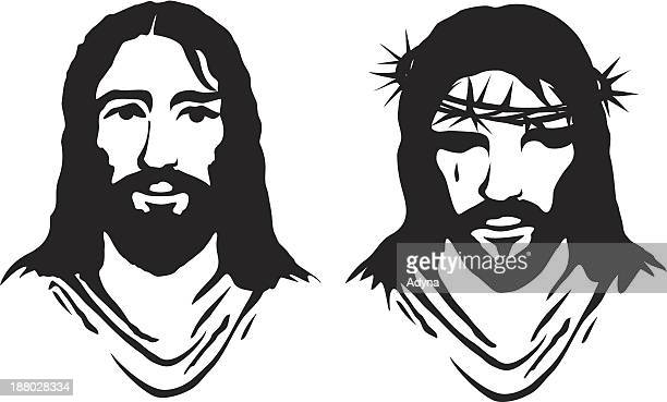 jesus - jesus christ stock illustrations, clip art, cartoons, & icons
