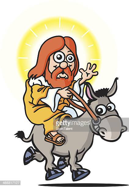 jesus - laughing jesus images stock illustrations