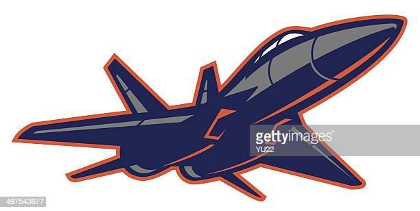 ilustraciones, imágenes clip art, dibujos animados e iconos de stock de jet luchador de - stealth