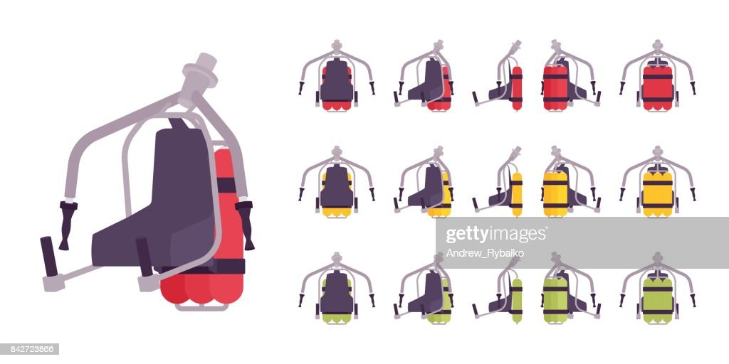 Jet pack set