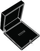 Jewelry Gift  box icon.