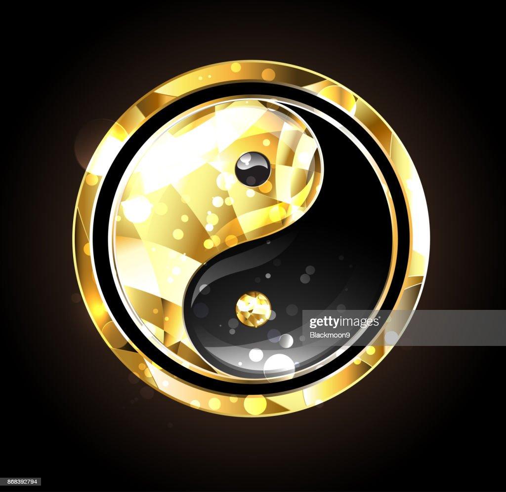 Jewelry yin yang symbol