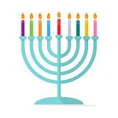 Jewish tradition Menorah Hanukkah