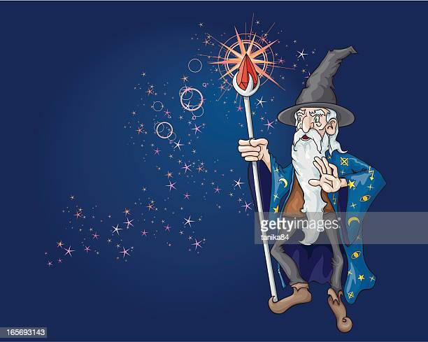 jiggery-pokery - wizard stock illustrations, clip art, cartoons, & icons