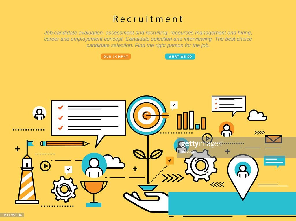 Job candidate selection concept