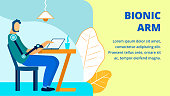Job for Disabled Individuals Flat Banner Template