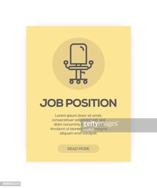 Job Position Concept