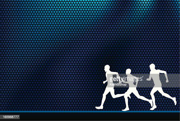 Joggers or Cross Country Runners Background