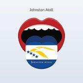 Johnston Atoll language. Abstract human tongue.