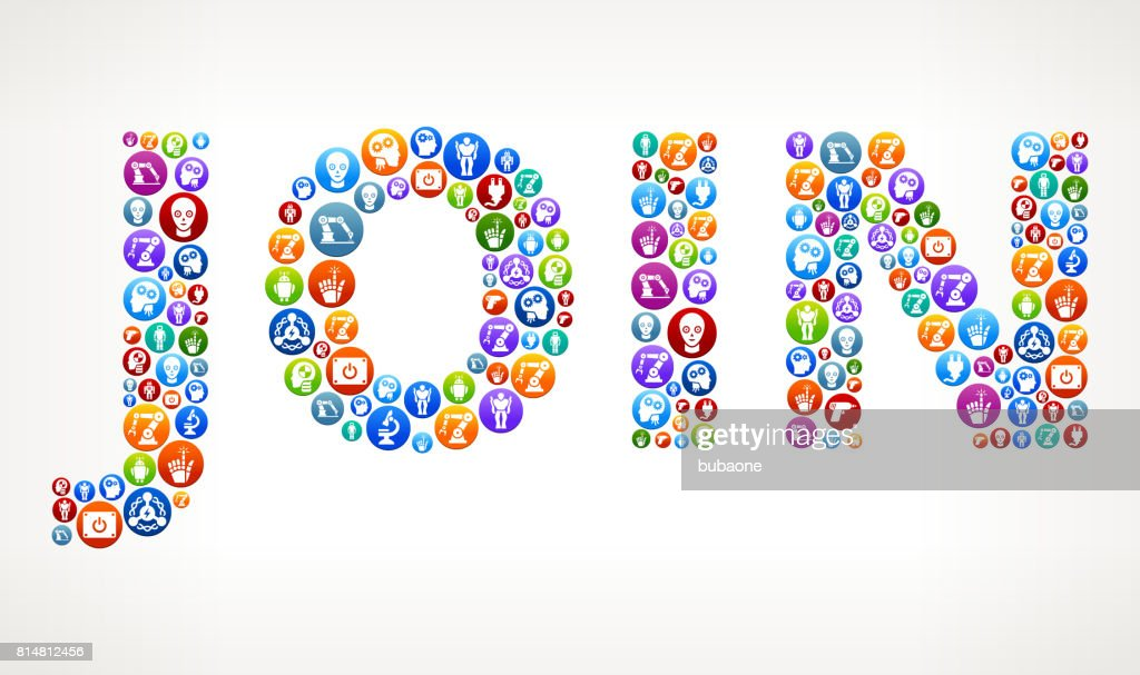 Join Money Robots And Robotics Vector Buttons Vector Art Getty Images