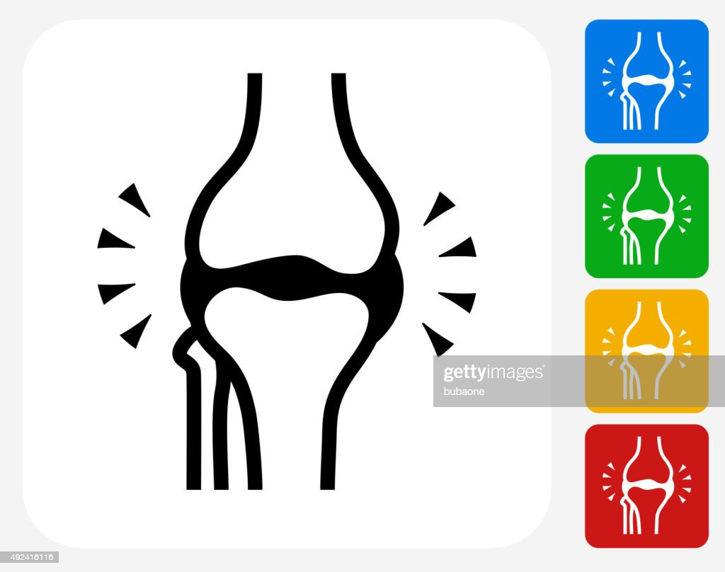 Joint Icon Flat Graphic Design