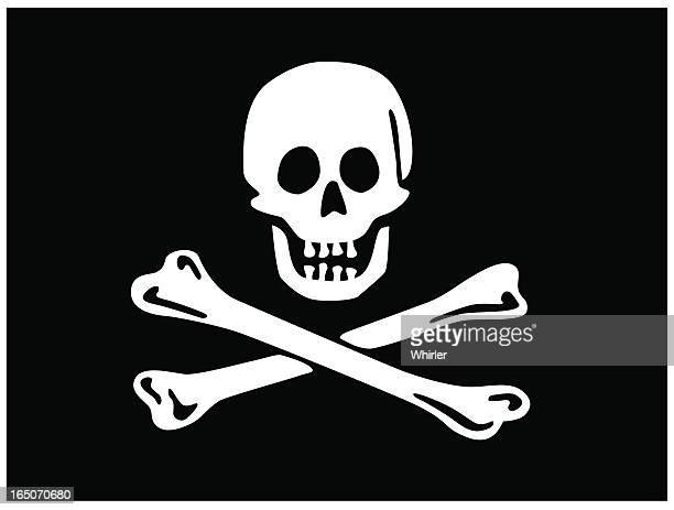 ジョリー roger -海賊旗 - 海賊旗点のイラスト素材/クリップアート素材/マンガ素材/アイコン素材