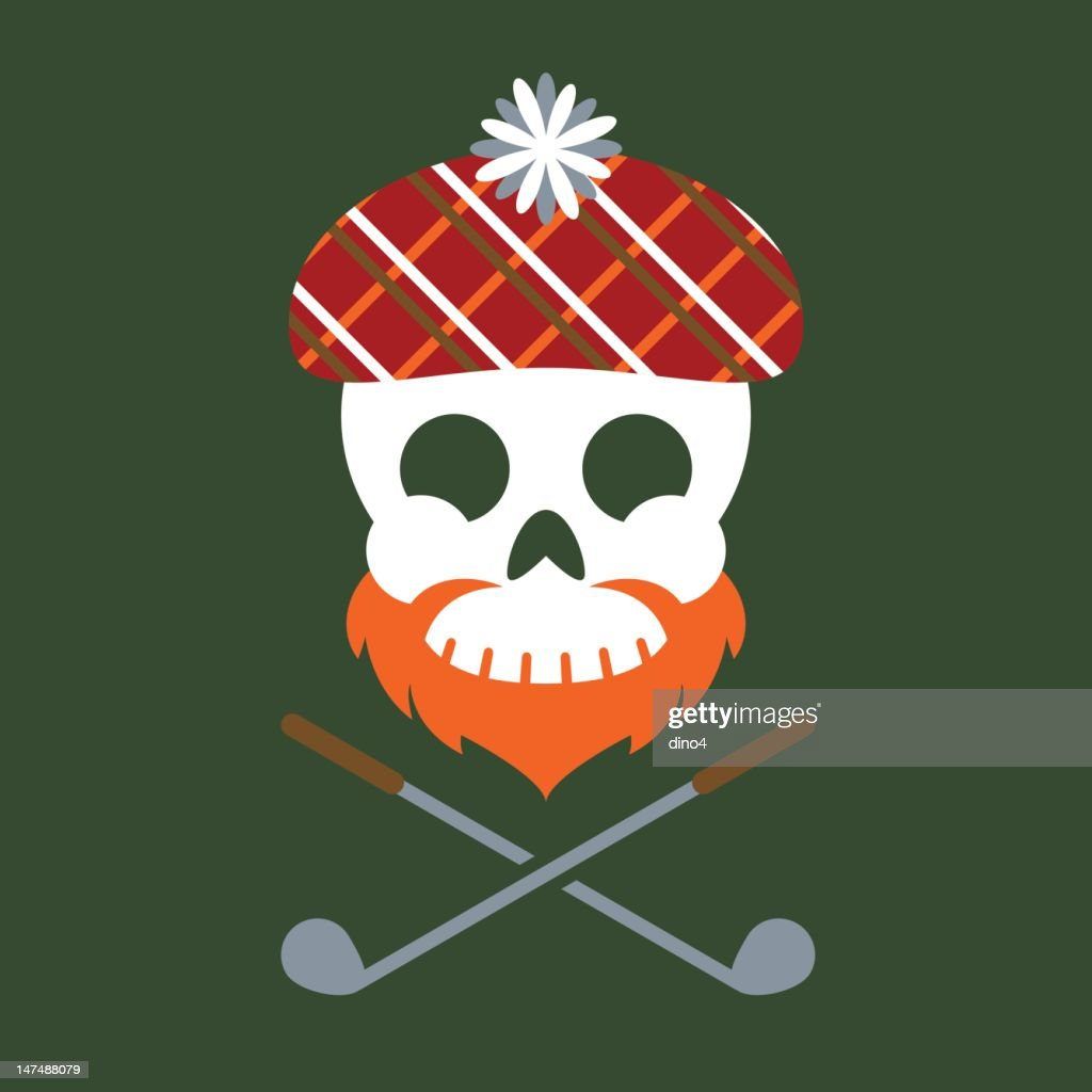 Jolly Scotsman : stock illustration